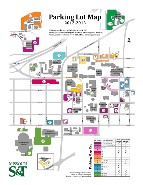 Missouri s t tlt parking information for Missouri s t dining hall hours